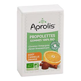 Propolettes 100% BIO / Cannelle-Orange